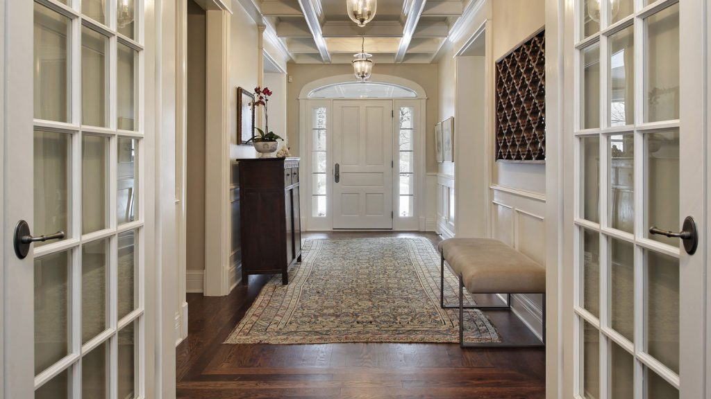 French Doors in modern home