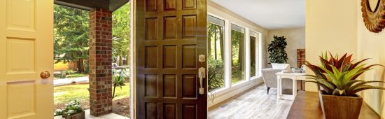 door installed in beautiful home