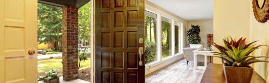 door installed in beautiful home